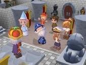 De koning in zijn kasteel tijdens de Wandolierwedstrijd!