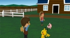 Review My Pokémon Ranch: Je krijgt een Pikachu als begin Pokémon.