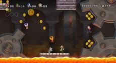 Review New Super Mario Bros. Wii: Dit soort omgevingen worden niet makkelijker wanneer je ze met meerdere spelers te lijf gaat!