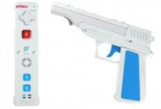 Review Nyko Wand Wii Controller: De Nyko Wand Action Pack. Deze pistooluitbreiding maakt gebruik van de Trans-Port technologie.