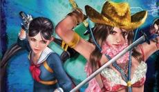 Review Onechanbara: Bikini Zombie Slayers: Speel als de zusjes Saki (links) en Aya (rechts).