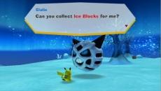Review PokéPark Wii: Pikachu's Adventure: Helaas voor de kinderen is alle tekst in het Engels.