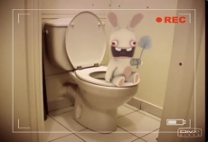 Review Rayman Raving Rabbids: Ik zou Rabbids niet storen tijdens hun toiletbezoek. Bwaaaaaaaah!