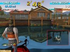 Review SEGA Bass Fishing: Probeer zo veel mogelijk baarzen te vangen.