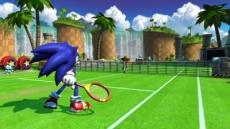 Review SEGA Superstars Tennis: Sonic is uiteraard ook weer van de partij.
