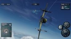 Review The Sky Crawlers: Innocent Aces: Ook al ben je op een missie, je zal de mooie omgevingen toch opmerken.