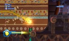 Review Sonic Colours: Hier gebruikt sonic misschien wel zijn leukste wisp. De mogelijkheid om door de grond de boren.