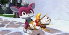 Review Sonic Unleashed: Chip is een zoetekauw, en het nieuwe hulpje van Sonic. Hij geeft onderweg veel tips!