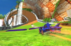 Review Sonic & Sega All-Stars Racing: Sonic gaat, zoals altijd, heel snel!