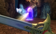Review Sonic and the Black Knight: Lichtbundels weerkaatsen: een originele manier om je zwaard te gebruiken, maar juist op dit soort momenten werken de controls erg slecht