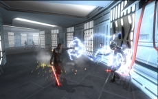 Review Star Wars: The Force Unleashed: Gebruik Force Lightning om je vijanden een flinke schok te geven!