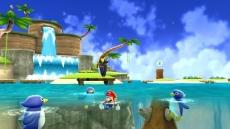 Review Super Mario Galaxy: Een heerlijke tropische planeet met Pinguins?!