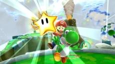 Review Super Mario Galaxy 2: Daar doen we het allemaal voor: die felbegeerde ster. Mario zou het niet zonder <a href = https://www.mario64.nl/Nintendo64_Yoshis_Story.htm>Yoshi</a> gedaan kunnen hebben.