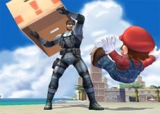 Review Super Smash Bros. Brawl: Help! De gevreesde kartonnen doos aanval van Solid Snake!