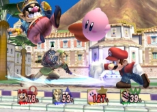 Review Super Smash Bros. Brawl: Link, Mario, <a href = https://www.mario64.nl/Nintendo64_Kirby_the_Crystal_Shards.htm>Kirby</a> en Wario: iedereen is van de partij!