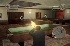Review The Godfather: Blackhand Edition: Het schieten werkt erg goed met de Wii Remote in de hand.