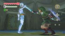 Review The Legend of Zelda: Skyward Sword: Ghirahim is een taaie tegenstander. Pas op dat hij je zwaard niet steelt!