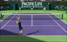 Review Top Spin 3: Ook met Sharapova sla je nauwelijks een ace.