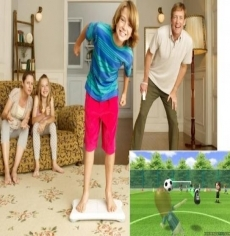 Review Wii Balance Board: Wii fit game op het Wii Balance Board.