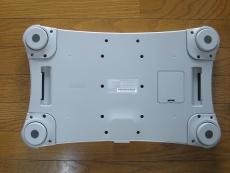 Review Wii Balance Board: En zo ziet het eruit van onder.