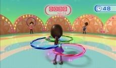 Review Wii Balance Board: Een mini-game wat je kan doen met het Wii Balance Board: Hoelahoepen