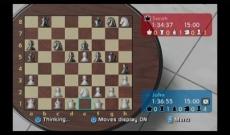 Review Wii Chess: Dit is het scherm dat je nog lang voor je ziet als je besluit Wii Chess te gaan spelen...