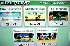 Review Wii Party: Hier heb je veel keuze tussen de vele spelvarianten