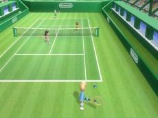 Review Wii Sports: Tennissen is speelbaar met maximaal 4 personen