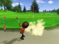 Review Wii Sports: Een bunkershot bij golf