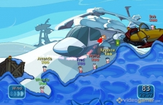 Review Worms: Battle Islands: Dit is hoe het spel eruitziet, zoals ik al zei is het de bedoeling om de vijandelijke Wormen uit te roeien!