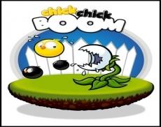 Review chick chick BOOM: Een plaatje met een wapen erop