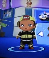 Voor de mannen geen prinssessenspul maar een brandweerman