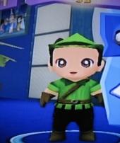 Robin heeft ook hier een hoed op
