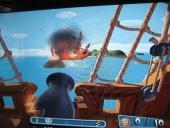 In het piratenthema is het te gemakkelijk om de boot van je tegenstander te laten zinken.