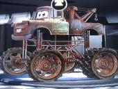 Mater is ook te kiezen als monstertruck