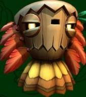 Er zijn verschillende soorten Tiki's, waaronder deze Tiki Goon.