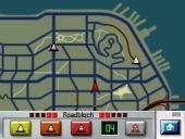 Kijk regelmatig op de kaart en plaats wegversperringen.