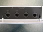 De socket waar je de controller in doet (Wii).