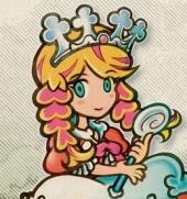 Princess Apricots, een prinses die wel iets ziet in Corobo.