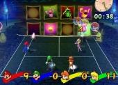In Terror Tennis sta je tegenover de spoken uit Luigis Mansion. Kom alleen niet te dichtbij, dan komen ze achter je aan!