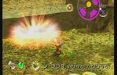 Soms is er wat explosief geweld nodig om voorbij opstakels te komen, daar hebben we gelukkig de gele Pikmin voor.