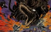 En hier is het uiteindelijk allemaal om te doen, de achtkoppige demon Orochi.