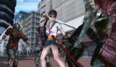 Saki kan zowel met haar zwaard als met haar vuisten vechten.