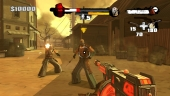 Een ninja-cowboy met een machinegeweer? Cool!