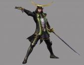Een derde heeft een zwaard en een pistool (