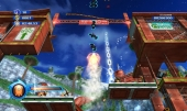 De oranje wisp laat Sonic tot ongekende hoogte springen!