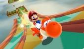 Voer Yoshi een Dash Pepper en hij ontzettend snel, waardoor hij steile hellingen zelfs over water kan lopen!