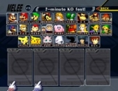 Gamecube - 26 characters in Super Smash Bros. Melee