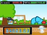 Dat het hoofdpersonage in deze game blauw is, is nog tot daaraan toe. Maar een blauwe olifant?