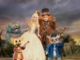 Alice, de Mad Hatter, White Rabbit en de Cheshire Cat: ze zijn allemaal van de partij!